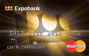 Карта MasterCard Gold  от Экспобанка