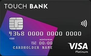 Дебетовая карта от Touch Bank