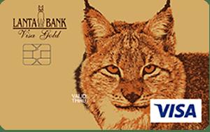 Карта Visa Gold от банка Ланта