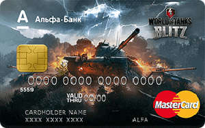 Карта World of Tanks Blitz от Альфа-Банка