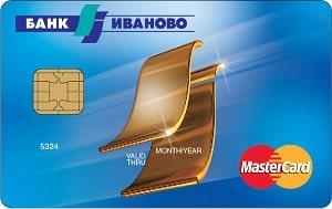 Карта MasterCard Standard от банка Иваново