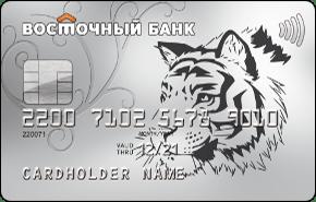 Кредитная карта Восторг от Восточного банка