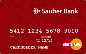 Карта MasterCard от Заубер Банк