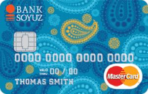 Карта MasterCard Standart От банка Союз