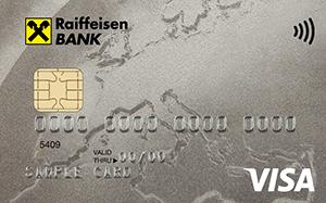 Дебетовая карта Visa Classic от Райффайзенбанка