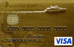 Карта Visa Gold от Морского банка