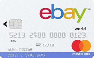 Карта eBay MasterCard World от Тинькофф Банка