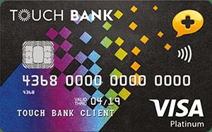 Дебетовая карта Touch Bank — «Связной Клуб»