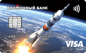 Детская карта №1 Visa Classic от Восточного Банка