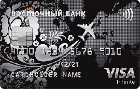 Карта Visa Infinite Путешественника Премиум