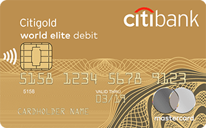 Карта CitiOne Plus MasterCard World Elite от Ситибанка