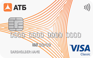 Карта Visa Доступный плюс от банка АТБ
