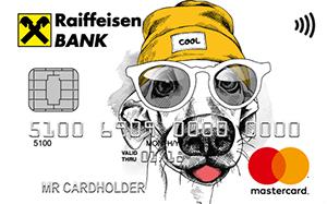 Детская карта MasterCard Standard от Райффайзенбанка