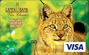 Карта Visa Classic от банка Ланта