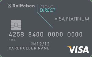 Карта Premium Direct Visa Platinum от Райффайзенбанка