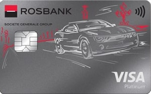 Автокарта Visa Platinum