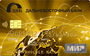 Карта Cash-back от Дальневосточного банка