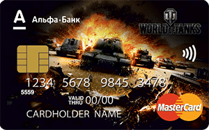 Карта World of Tanks от Альфа-Банка