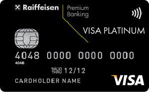 Карта Premium Visa Platinum от Райффайзенбанка